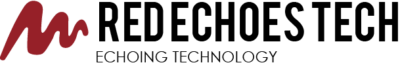 Red Echoes Tech Logo